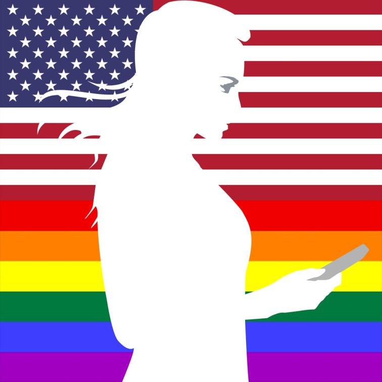 USA - 11/12 juin 2016 - Soutien de la France suite à l'attentat dans une boîte de nuit gay à Orlando en Floride