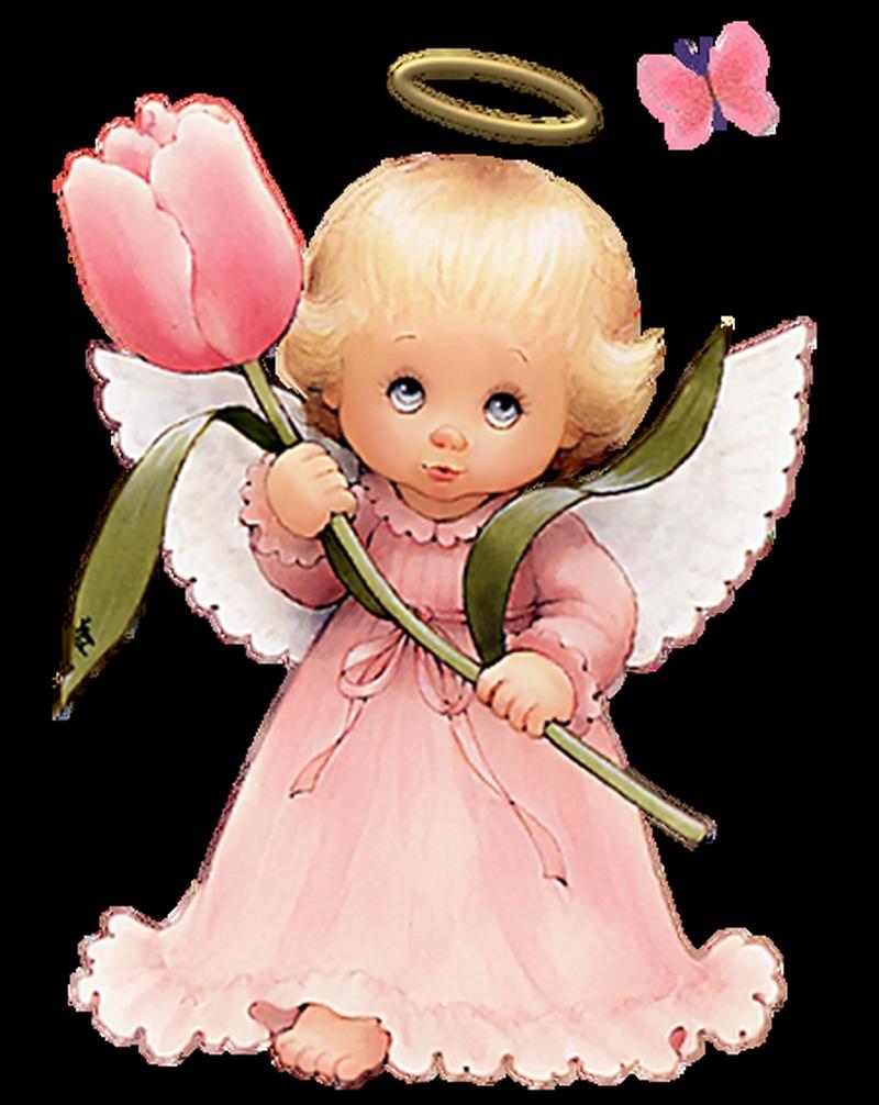 Christmas Angels_ange-robe-rose-tulipe_wp